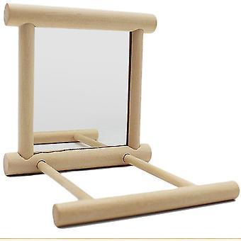Ruff ´N´ Tumble Mirror ´N´ Perch Bird Toy
