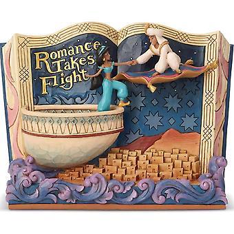 Disney Traditions Romance Takes Flight Aladdin Figurine
