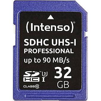Intenso Professional SDHC card 32 GB Class 10, UHS-I