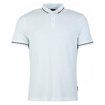 Armani Exchange Tipped Logo Collar Polo