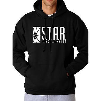 Flash Unisex Adults Star Labs Logo Hooded Sweatshirt