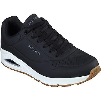 Skechers Mens Uno Stand On Air Lace Up Sports Trainers