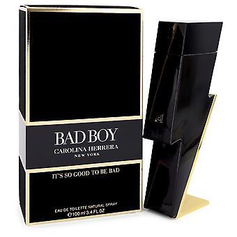 Bad Boy av Carolina Herrera Eau de Toilette Spray 3,4 oz/100 ml (herrar)