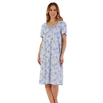 Slenderella ND55113 Women's Floral Nightdress