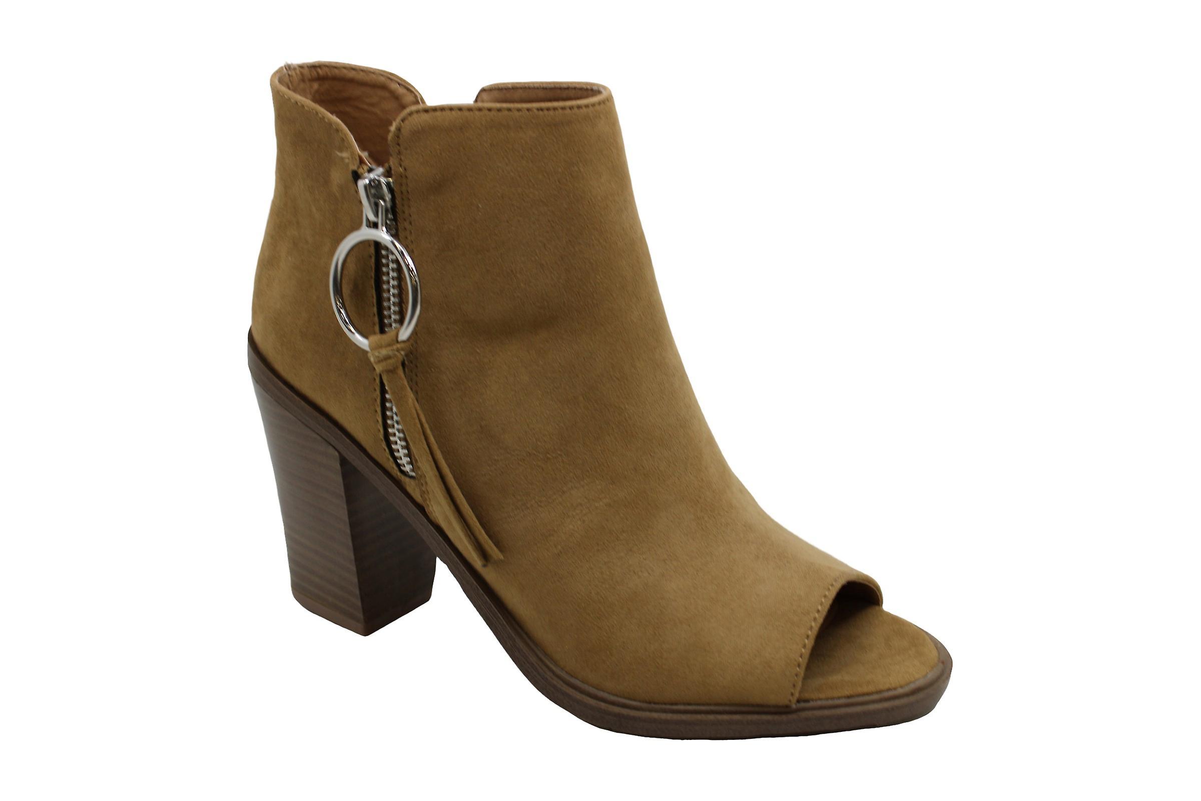 Esprit Women-apos;s Pump, Bootie, Open Toe, Taille Zip Fashion Boot  S2PzQf