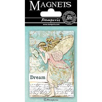 Stamperia Wonderland Fairy 8x5.5cm Magnet
