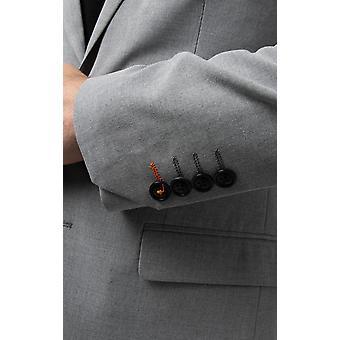 Avail London Mens Light Grey Suit Jacket Skinny Fit