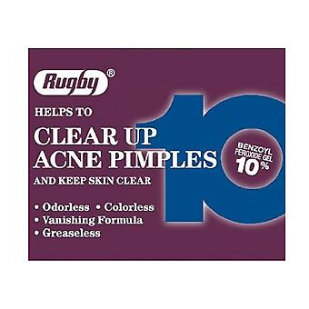 Rugby acne medication 10% benzoyl peroxide lotion, 1 oz