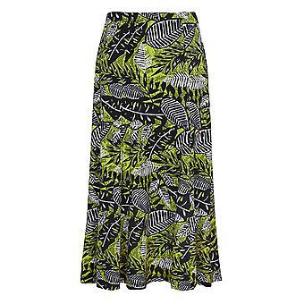 TIGI tropisk-print skjørt