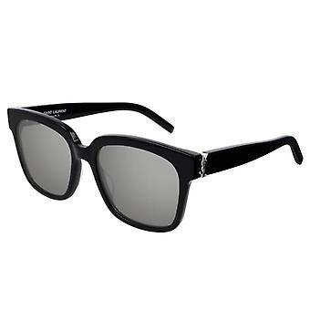 Saint Laurent SL M40 002 Black/Silver Sunglasses