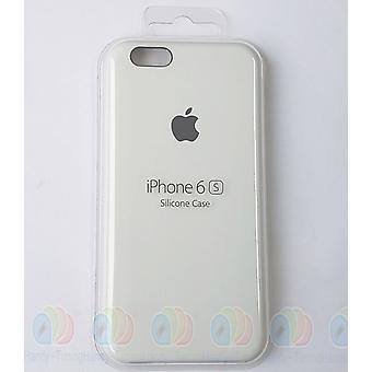 白 6 6 s 用アップル シリコン カバー ケース、梱包