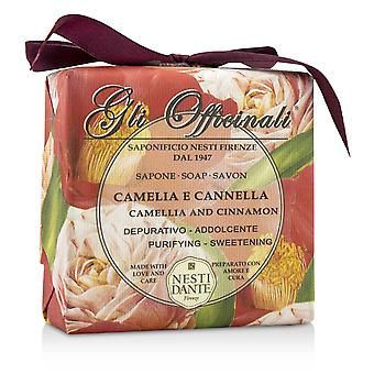 Gli officinali sæbe camellia & kanel rensning & sødning 200054 200g/7oz