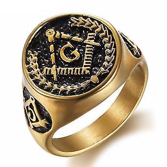 غصن الزيتون خاتم الذهب الماسوني