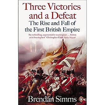 Kolme voittoa ja tappiota: nousu ja lasku ensimmäinen brittiläisen imperiumin 1714-1783