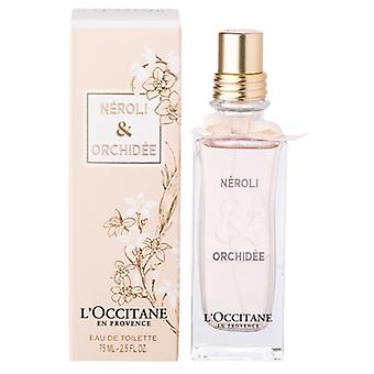 Neroli & Orchidee by L'Occitane for Women 2.5oz Eau De Toilette Spray
