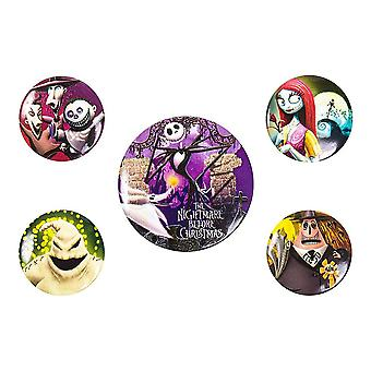 The Nightmare Before Christmas, 5x Pins
