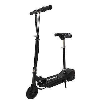 RideonToys4u 24V Electric Scooter 5.5 Inch Wheels With Seat Black Ages 14 Years+