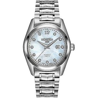 Roamer Searock ladies mens watch 34 mm 203844 41 19 20