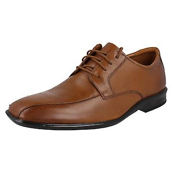 Mens Clarks Casual Lace Up Shoes Bensley Run