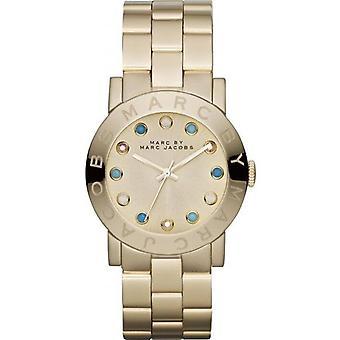 Marc Jacobs MBM3215 Amy Dexter Gold dial Gold-tone Ladies Watch