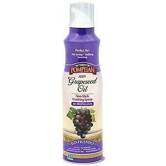 Pompeian Grapeseed olja non-stick matlagning spray