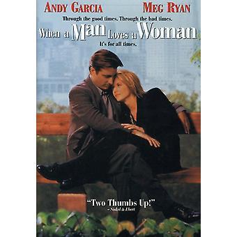 När en Man älskar en kvinna [DVD] USA import