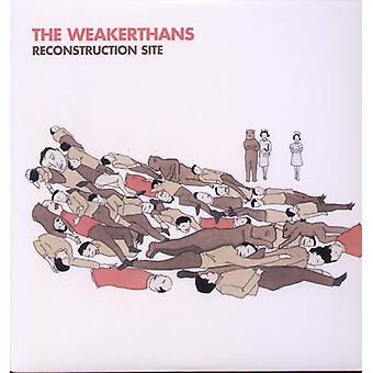 Weakerthans - importação EUA Site reconstrução [vinil]