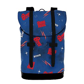 David Bowie Heritage Bag Rebel Rebel Galaxy Logo new Official Rocksax Blue