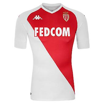 2020-2021 AS Monaco Kappa Home Shirt