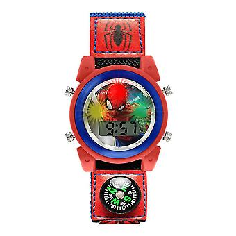 Children's Spider-Man Flashing Digital Watch