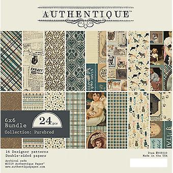 Authentique Purebred 6x6 Inch Paper Pad