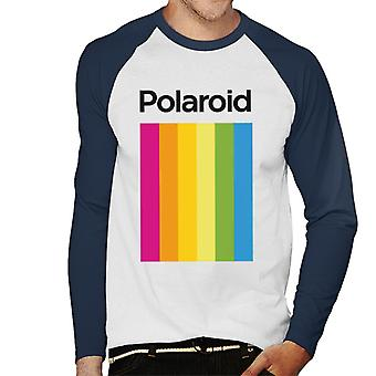 Polaroid Spectrum Men's Baseball langärmeliges T-Shirt