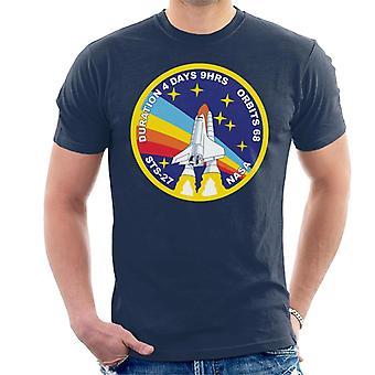 La NASA STS 27 Atlantis Mission Badge T-Shirt homme