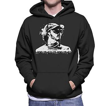 Motorsport Images Lewis Hamilton Image Men's Hooded Sweatshirt