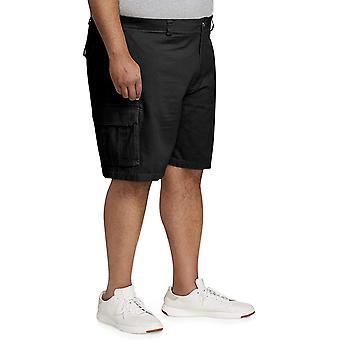 أساسيات الرجال & apos&ق كبيرة وطويل القامة البضائع قصيرة, أسود, 52