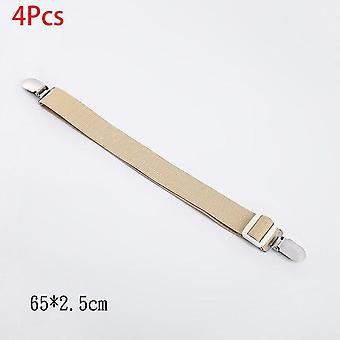 Clip di foglio letto elastico regolabile - Mattress Cover Corner Holder - Fasteners Straps Clothes Pegs