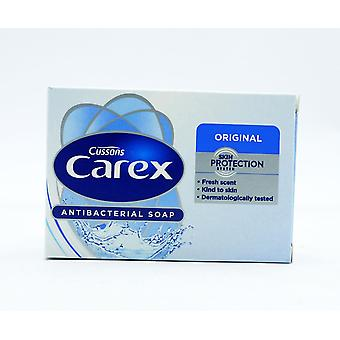 24 x Cussons Carex Original Antibacterial Soap 100g Each