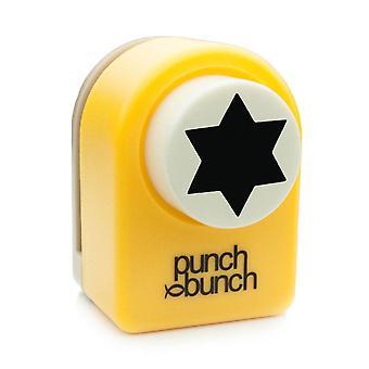 Punch Bunch Medium Punch - Star of David