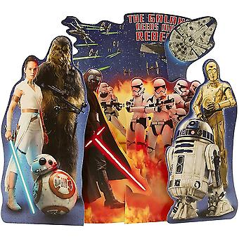 Hallmark Star Wars The Galaxy Needs More Rebels Fold-out Birthday Card 25534851