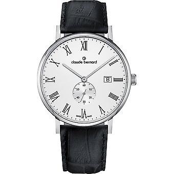 Claude Bernard - Armbandsur - Män - Slim linje liten sekund - 65004 3 BRA