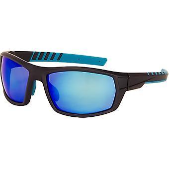 Sonnenbrille Herren   rechteckig  Herren  grau / blau (A-Z9180)