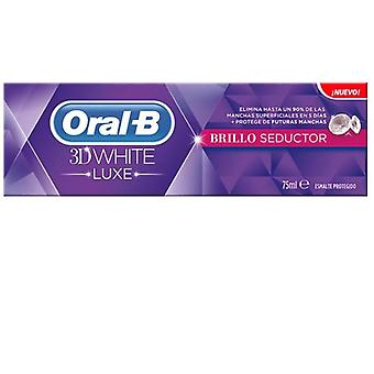 Oral B White Luxe 3D Gloss Dentifrice 75 ml