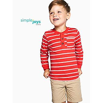 Simple Joys by Carter's Baby Boys' Toddler 3-Pack Long Sleeve Shirt, Gray, Na...