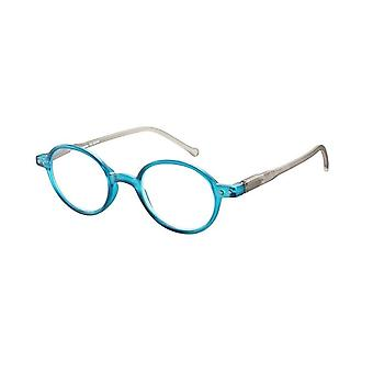 Reading Glasses Unisex Le-0189C Lennon Blue/Grey Strength +1.50