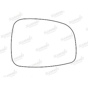 Right Driver Side Stick-On Mirror Glass For Suzuki SWIFT mk3 2005-2010