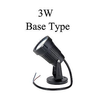 Led Cob Zahradní osvětlení 3w 5w 10w Venkovní Spike trávník lampa vodotěsné osvětlení LED světlo zahrada cesta reflektory Ac110v 220v Dc12v