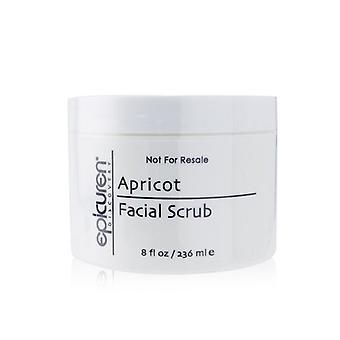 Abrikozen gezichtsscrub - Voor droog en Normale huidtypes (salongrootte) - 236ml/8oz