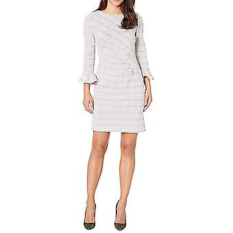 Lauren by Ralph Lauren | Daria Retro Knit Plaid Day Dress