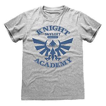 Nintendo Unisex Adult Knight Academy Legend Of Zelda T-Shirt