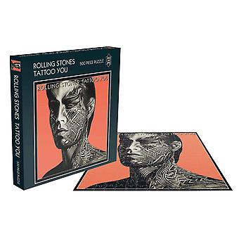 The Rolling Stones Jigsaw Puzzle Tattoo You Album Cover new Official 500 Piece
